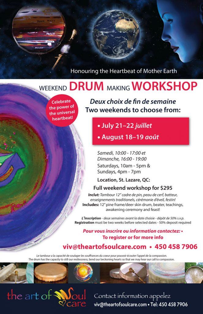 Drum Making Poster June