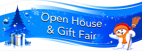 Open House and Gift Fair